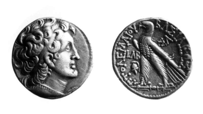 מטבע יווני (תלמי) של תלמי הח'