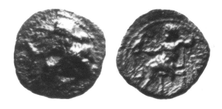 מטבע יווני של אלכסנדר מוקדון (אחרי מותו)