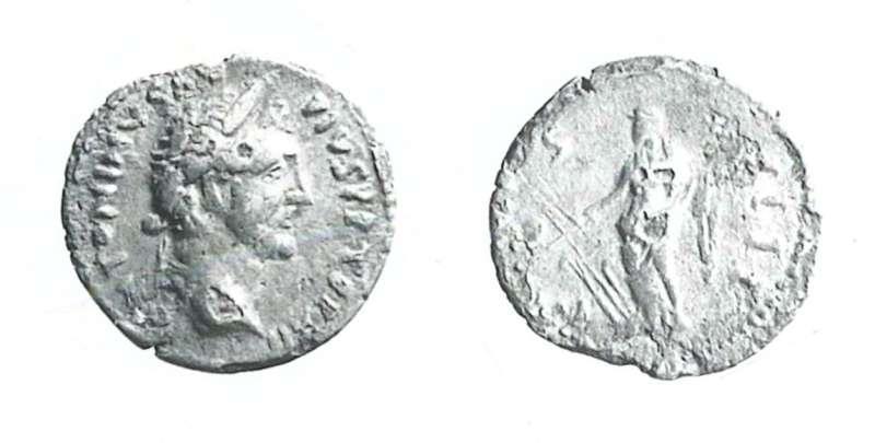 Coin of Antoninus Pius (ancient counterfeit)