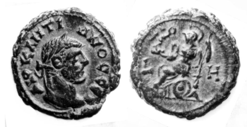 Roman Provincial coin of Diocletian