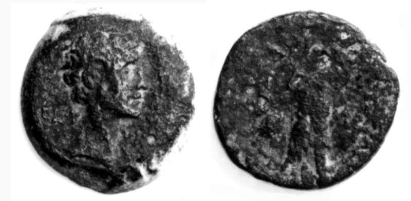 מטבע רומי פרובינקיאלי של אוקטביאנוס
