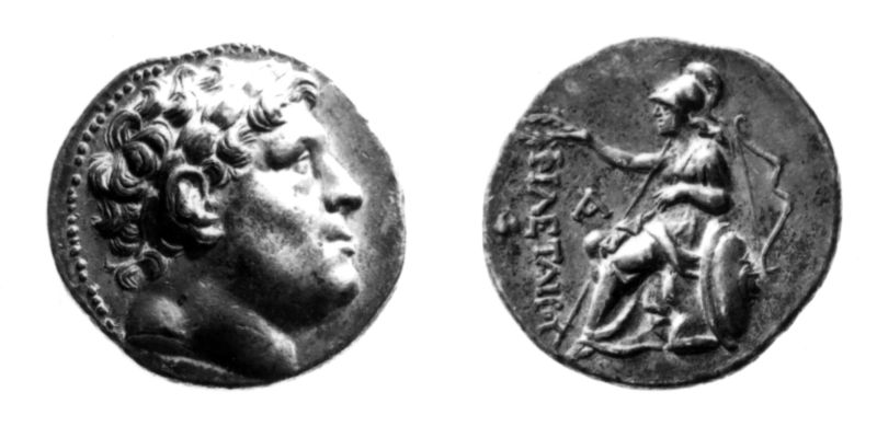 Greek coin of Attalus I