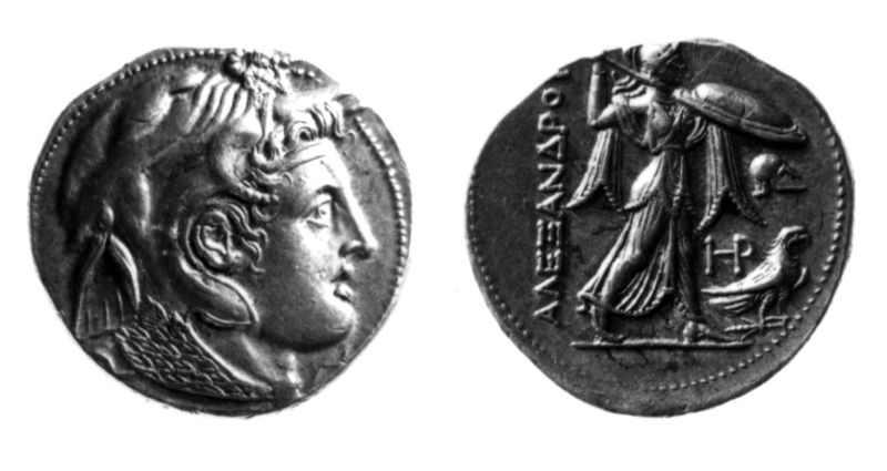 Greek (Ptolemaic) coin of Ptolemy I
