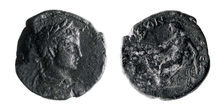 Roman Provincial coin of Elagabalus