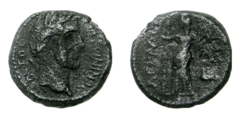 Roman Provincial coin of Antoninus Pius