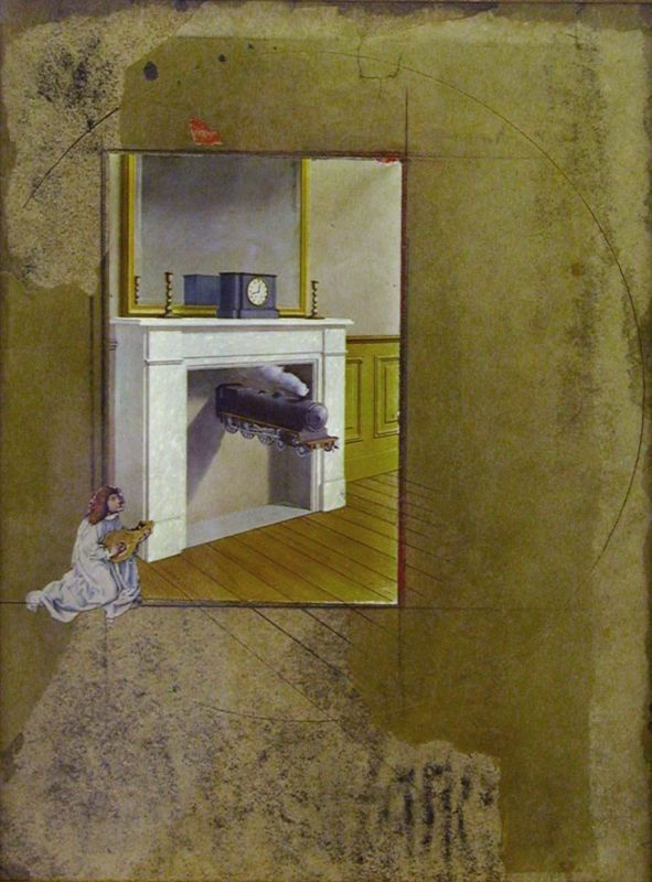 Untitled (after René Magritte's
