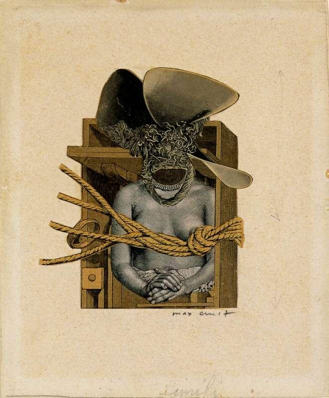 Torso of a Woman, Propeller and Rope (Torse de femme, helice et corage)