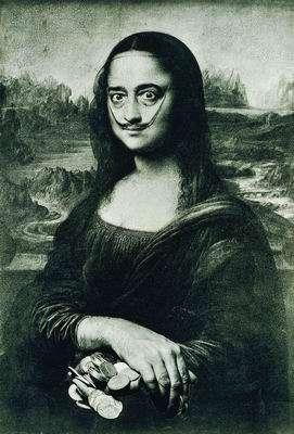 Dalí Mona Lisa