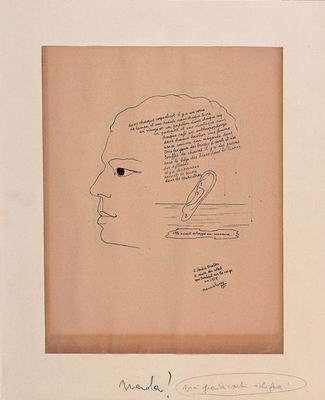 Portrait of André Breton