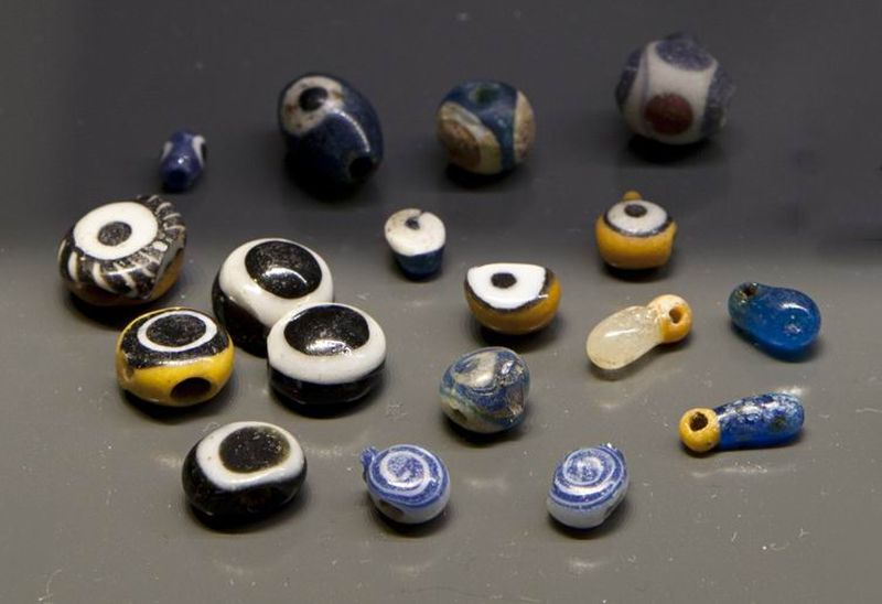 Eye beads and pendants