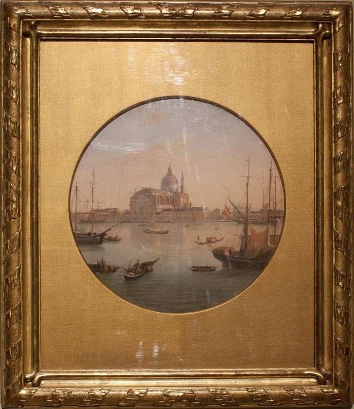 Landscape of Venice with the Church of San Giorgio Maggiore