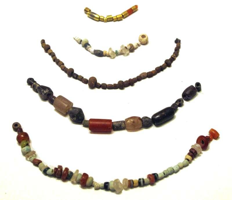 Necklaces, restrung