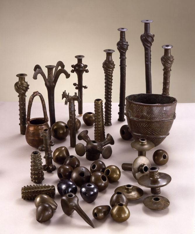 Objects from the Cave of the Treasure