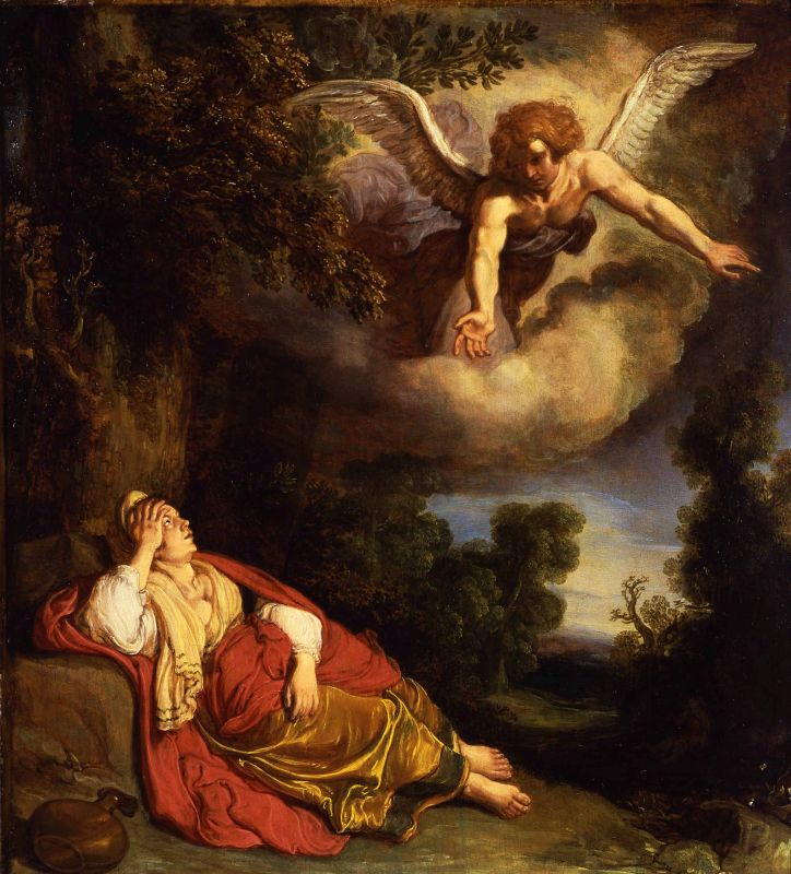 Hagar and the Angel in the Wilderness