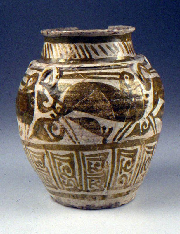 Jar with luster decoration