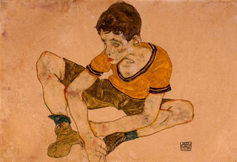 Cowering Boy (Paul Erdmann?)