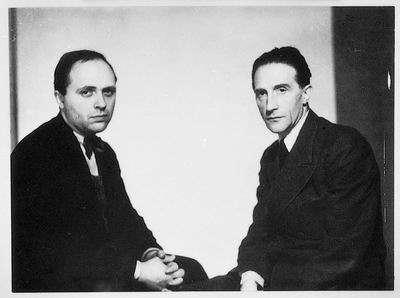 Vitaly Halberstadt and Marcel Duchamp