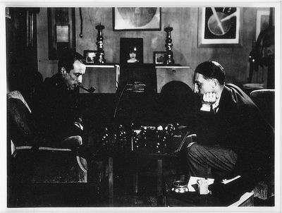 דושאן משחק שחמט עם ראול דה-רוסי