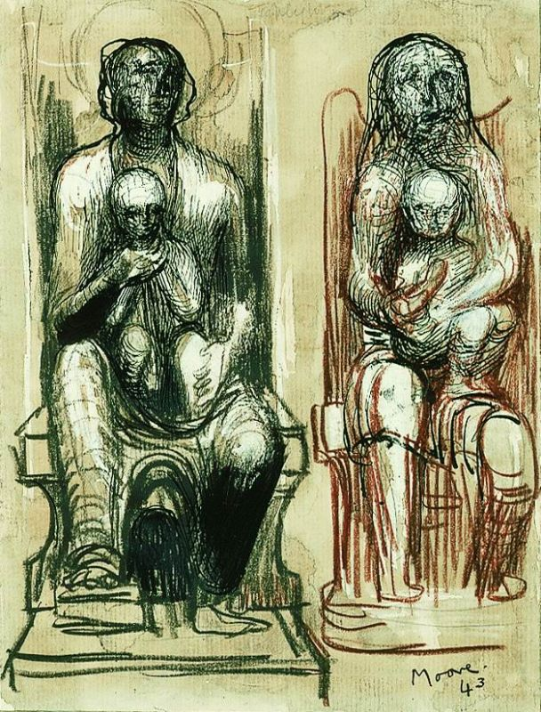 Madonna and Child Studies