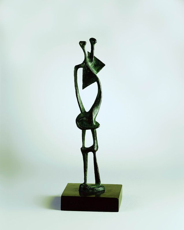 Maquette for Standing Figure