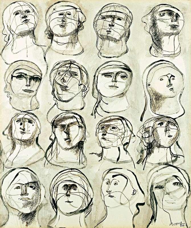 Sixteen Heads