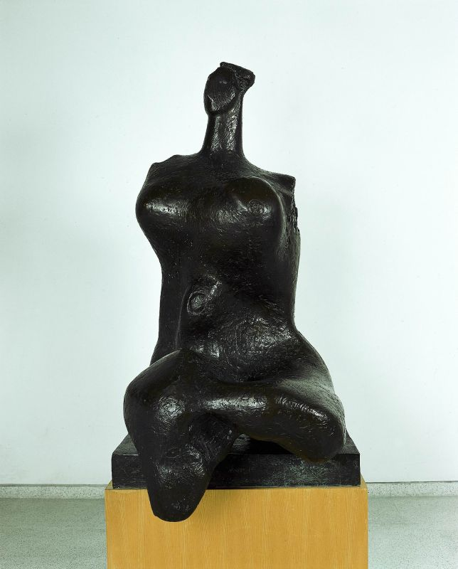 Woman (Seated Torso, Parze)