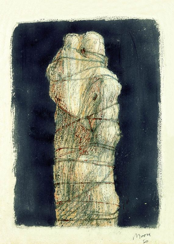 Wrapped Madonna and Child: NightTime