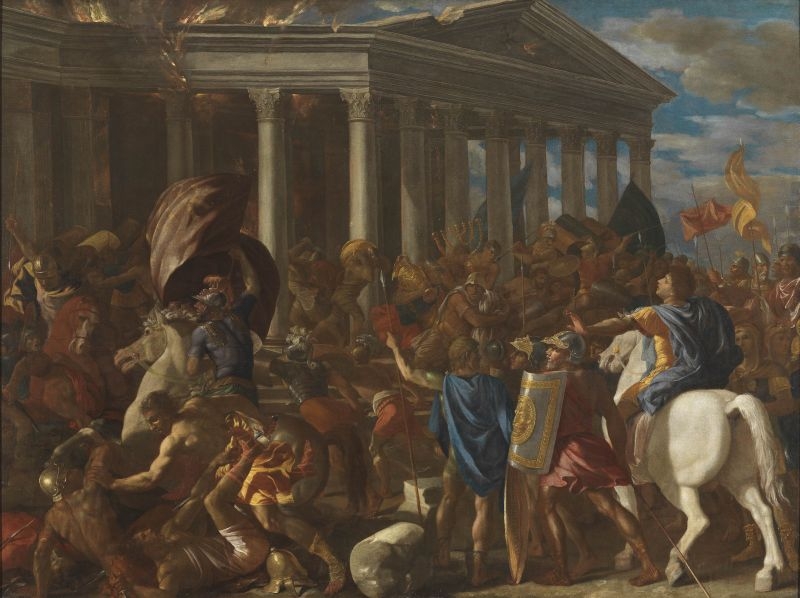 The Destruction and Sack of the Temple of Jerusalem
