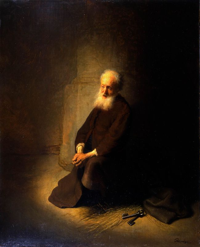 St. Peter in Prison (St. Peter Kneeling)
