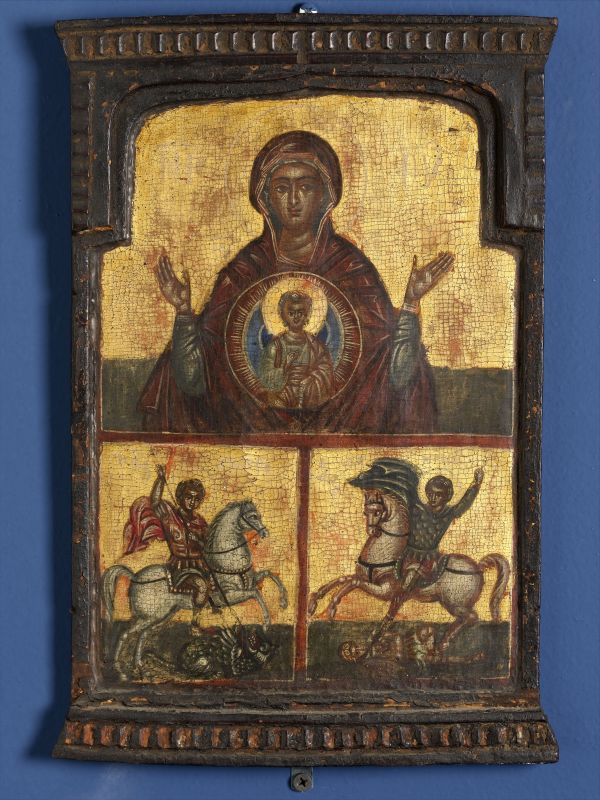 Madonna and Child with St. George and St. Demetrius