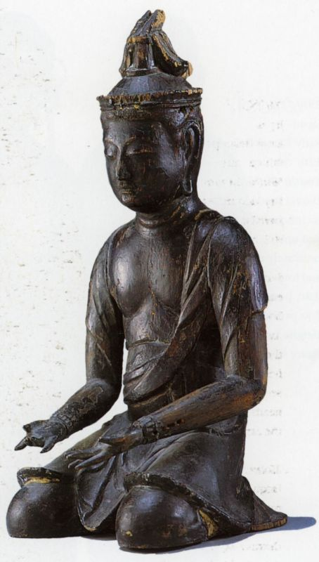 Seated figure, possibly a musician