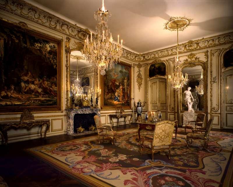 חדר רוטשילד - טרקלין צרפתי מן המאה ה-18