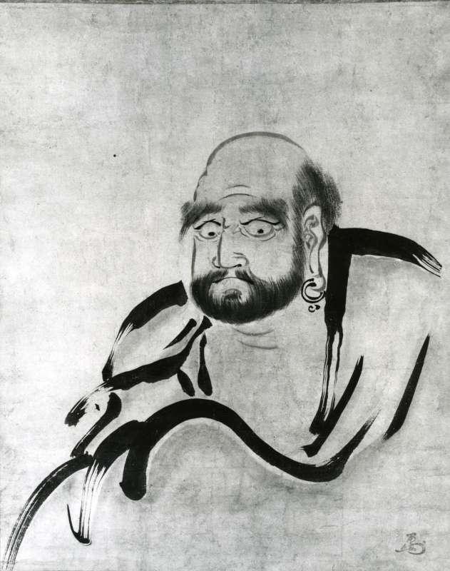 Daruma, the founder of Zen Buddhism