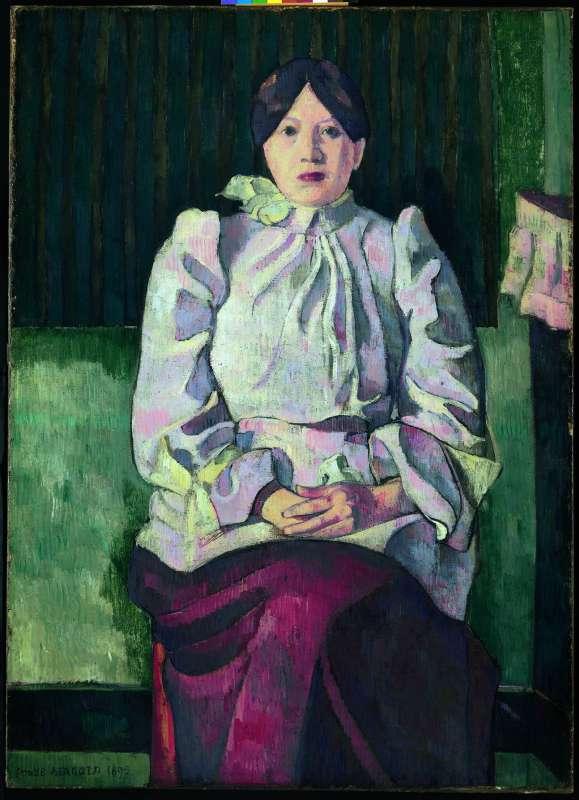 Portrait of Marie Lemasson