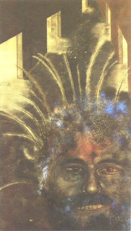 Self Portrait in Saragossa