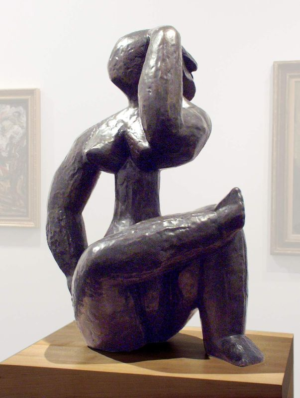 Large Seated Woman