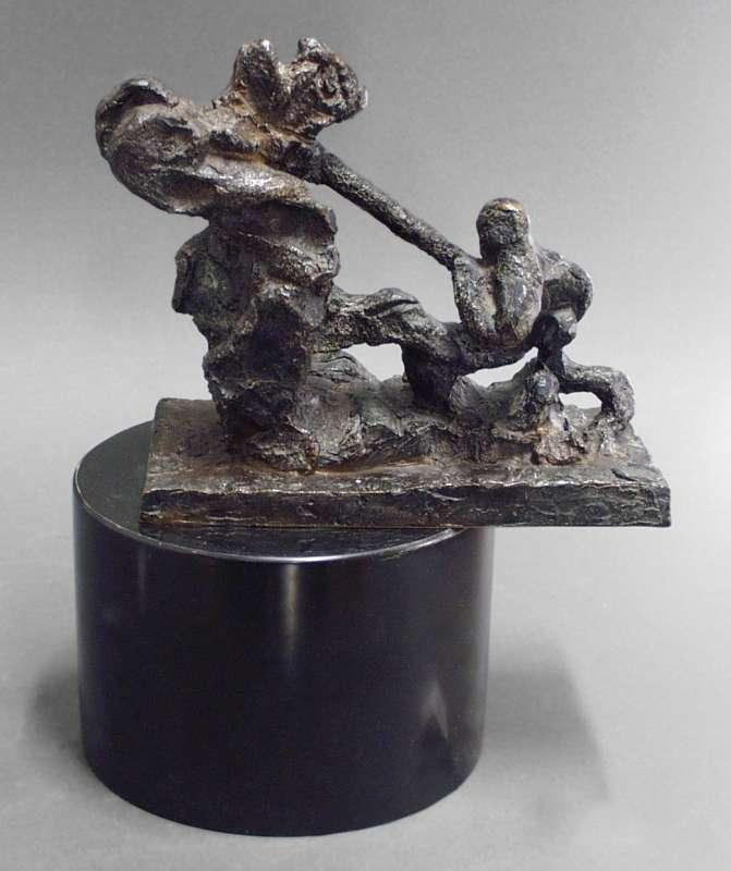 David and Goliath: Maquette No. 2