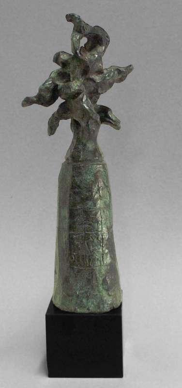 פסל-הכנה לאנדרטה: דגם מס' 3