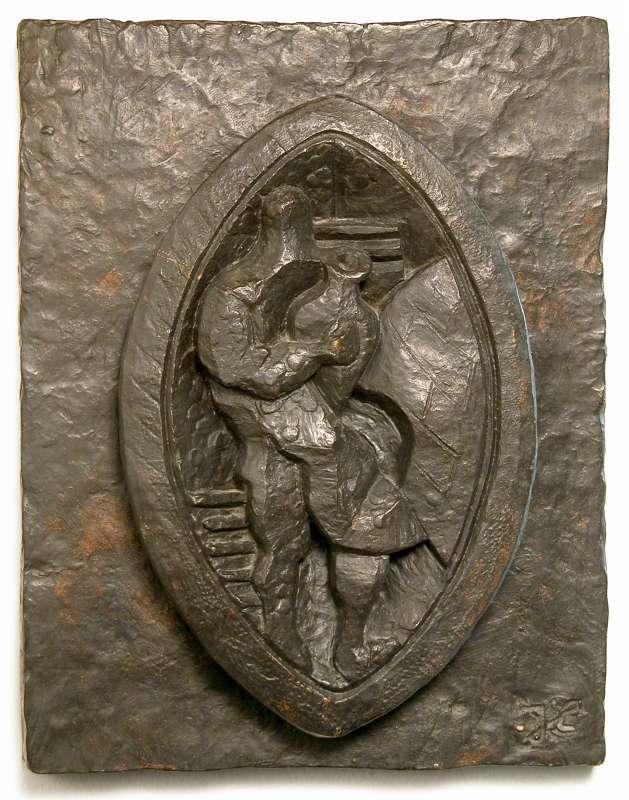 פסל-הכנה לקדר: דגם מס' 2