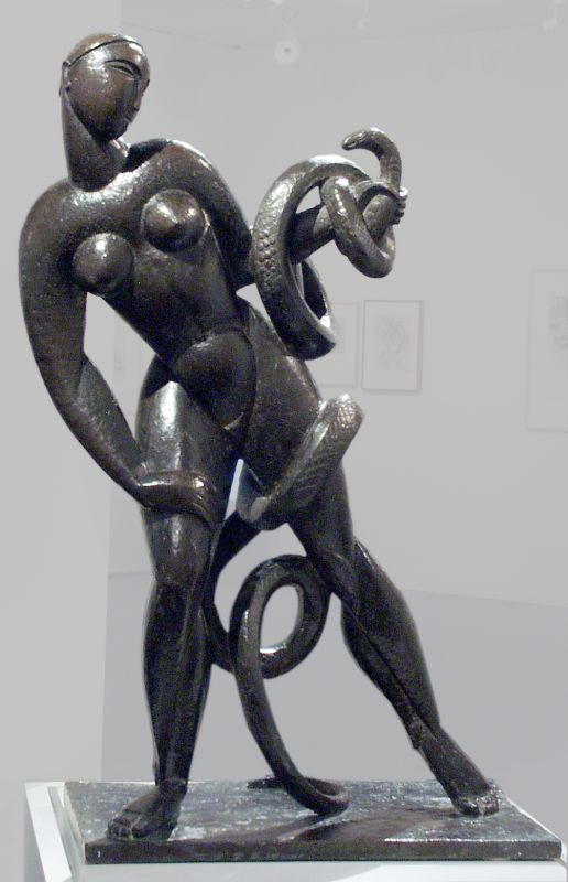 Woman with Serpent