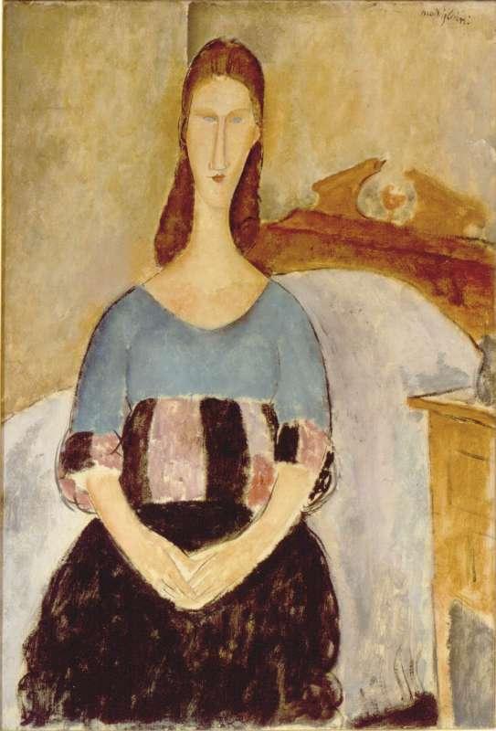 Jeanne Hébuterne, Seated