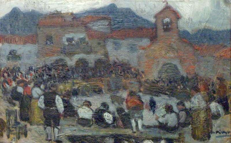 Bullfight in the Village