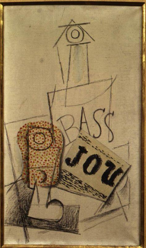 Glass, Bottle of Bass, Newspaper