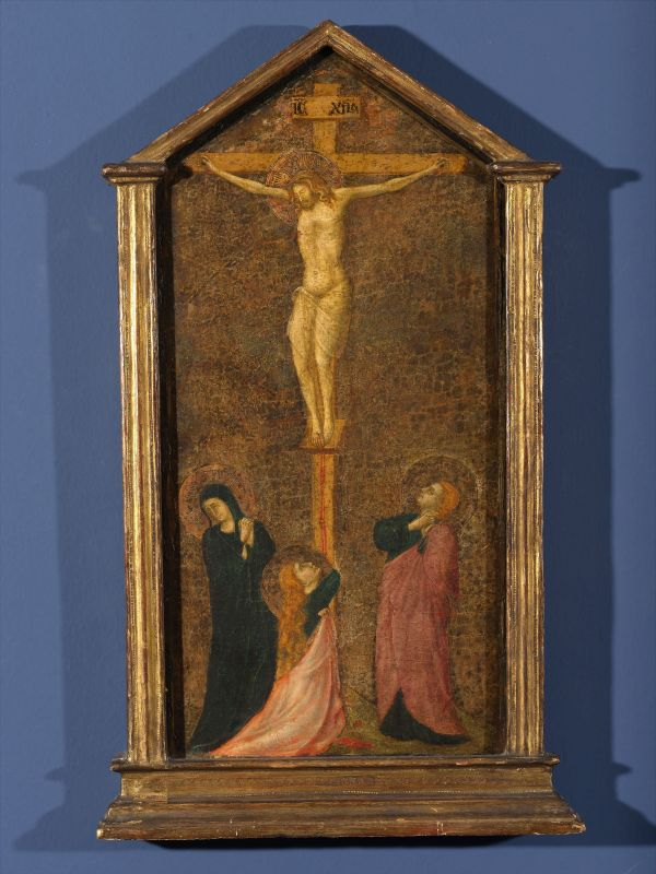 Crucifixion, with the Madonna, St. Mary Magdalene, and St. John the Evangelist