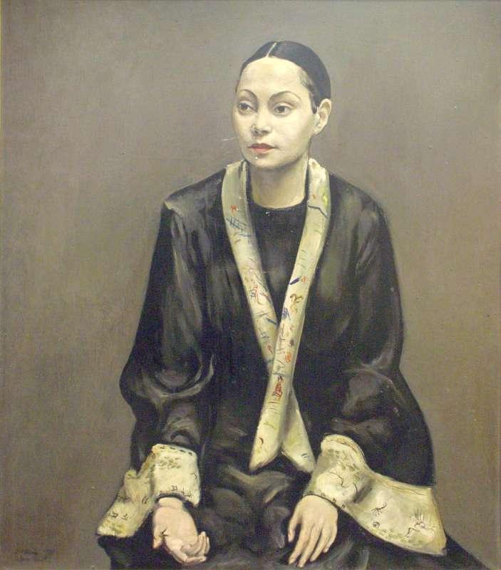 Portrait of Tatiana Barbakoff