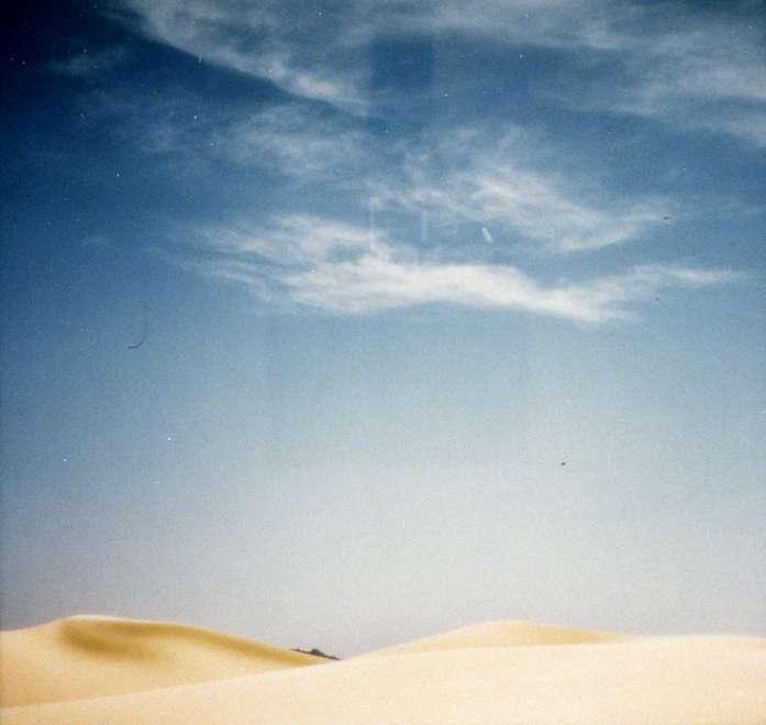 Great Dune and Mountain, Birkat Baraka, Sinai