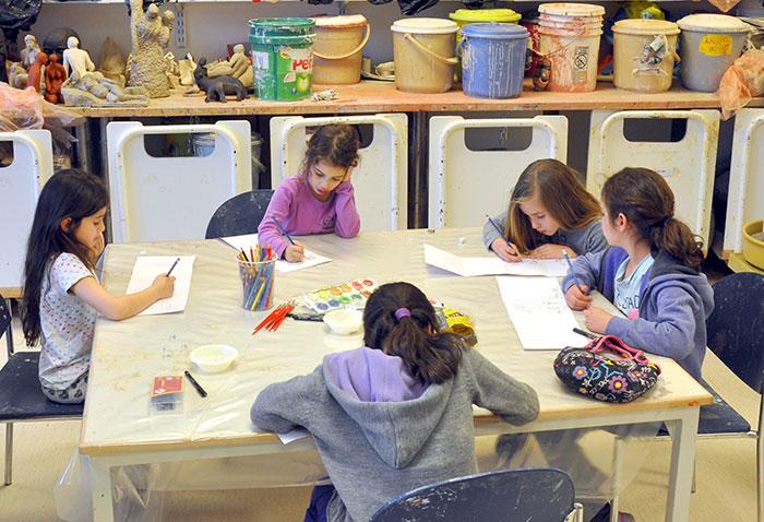 ציור ופיסול | כיתות ג'-ד'