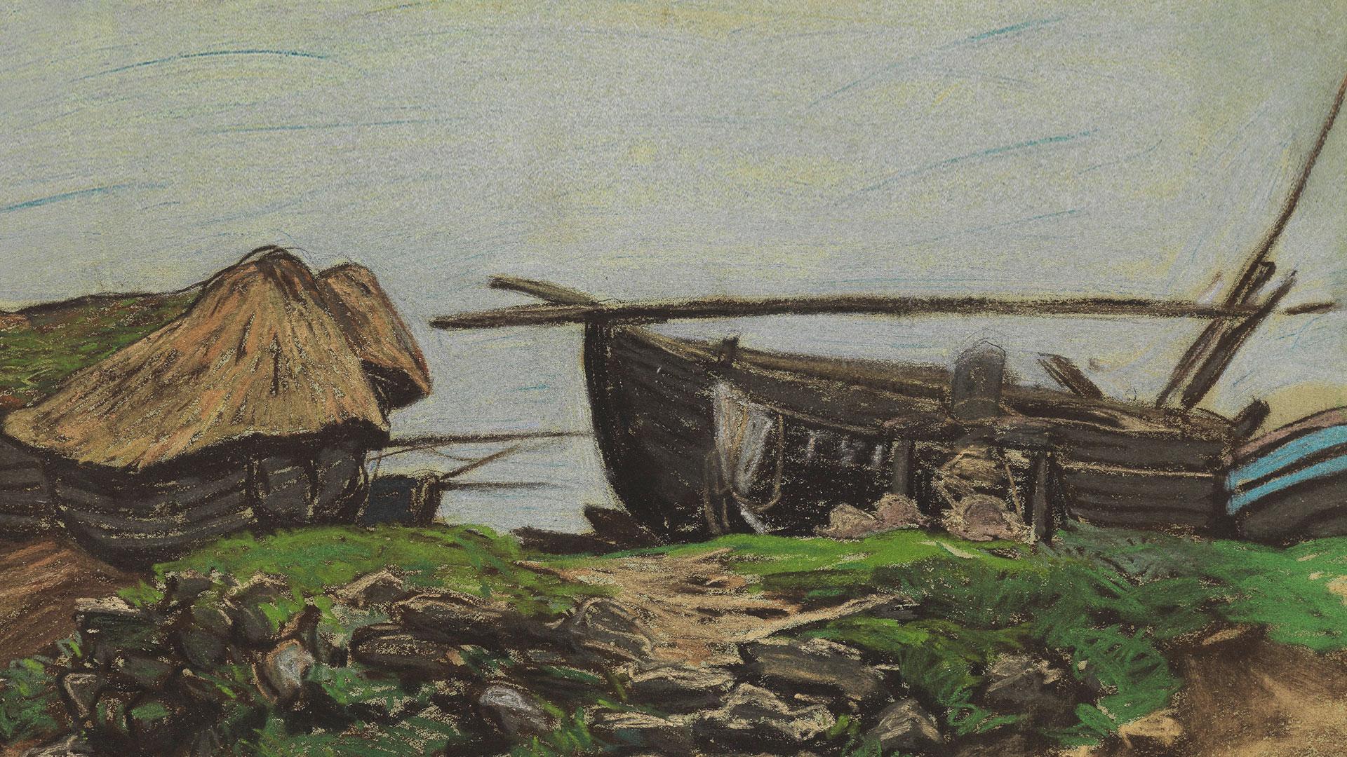 Monet, Claude, Près d'Étretat, 1868~B71_0204