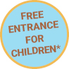 Free entrance for children throughout August
