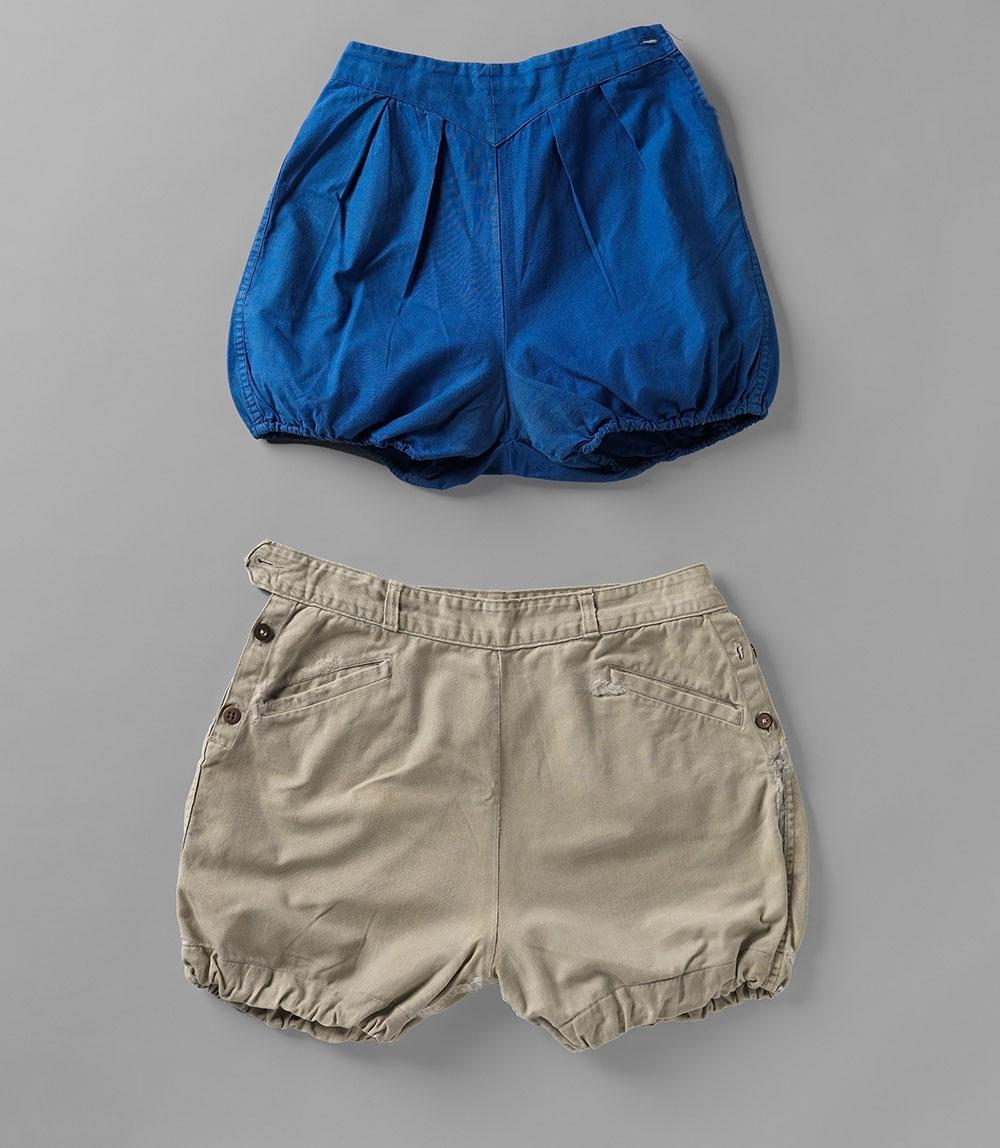 אתא, 1985-1934 מכנסיים קצרים לנשים,  אמצע המאה ה-20 ארכיון הטקסטיל והאופנה ע